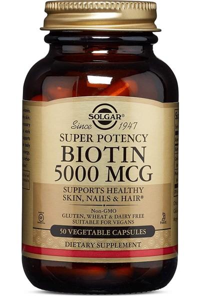 Solgar Biotin 5000 Mcg 1 Paket(1 x 1 Stück)