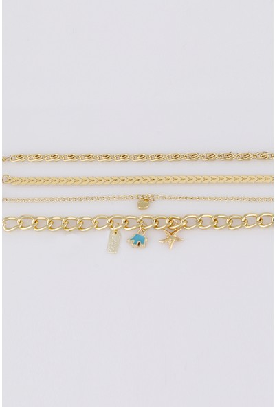 Sortie Accessories Deniz Yıldızı Figürlü Kombin Bileklik 022