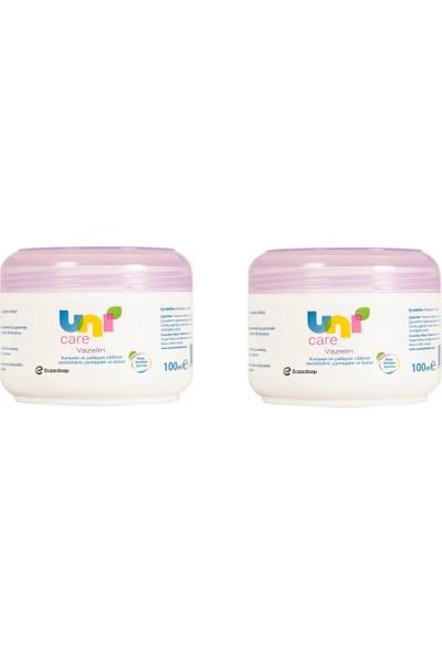 Uni Care Uni Baby Vazelin 100 ml x 2 Adet