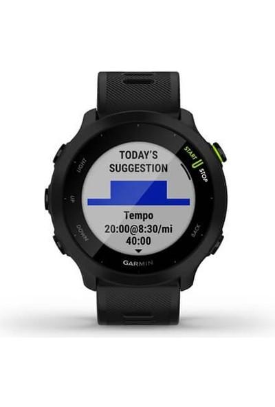 Garmin Forerunner 55 - Siyah Akıllı Saat