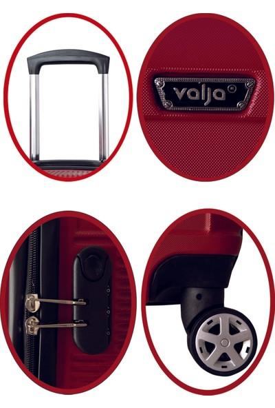 Valja VL-270 Kırmızı Orta Boy Valiz