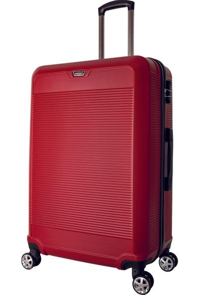 Valja VL-270 Kırmızı Büyük Boy Valiz