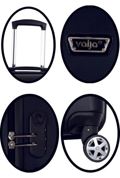 Valja VL-280 Milano Serisi Siyah Kabin Boy Valiz