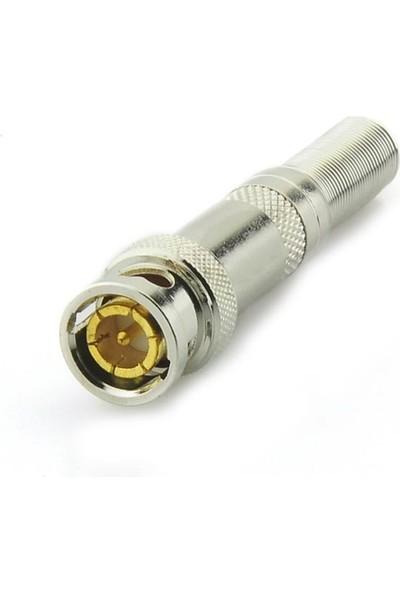Cablemaster Bnc Fiş Erkek Konnektör Yaylı Metal Cmf-16