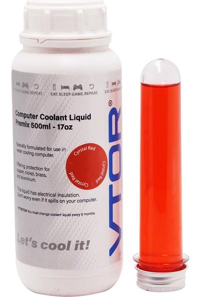 Vtor Bilgisayar Soğutma Sıvısı - Kristal Kırmızı - 500ML