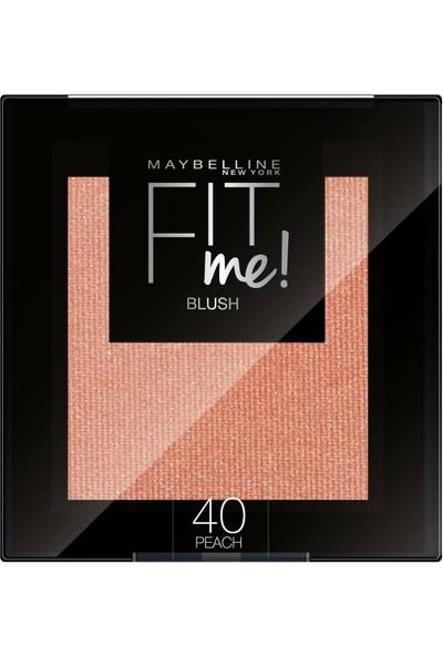 Maybelline Fit Me Allık 40 Peach 5gr