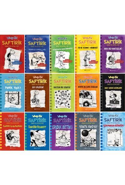 Saftirik Serisi Wimpy Kid 1-15. Kitaplar Set / Jeff Kinney