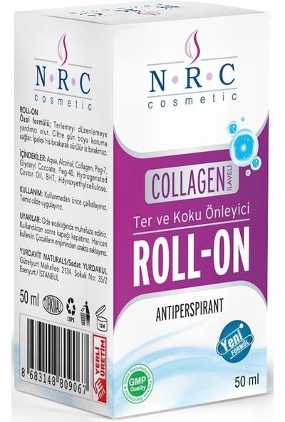 Nrc Ter ve Koku Önleyici Collagen Ilaveli Antiperspırant Roll-On 50 ml