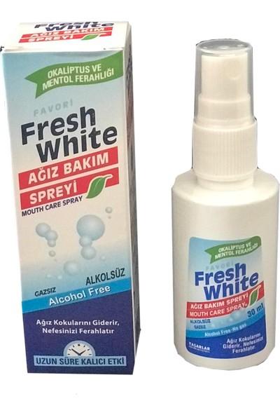 Fresh White Ağız Bakım Spreyi 30 ml 5'li Paket